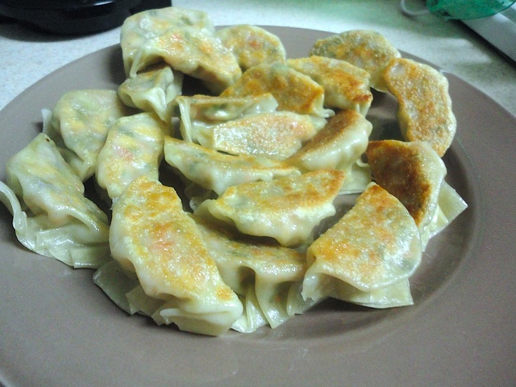 Veggie Potstickers | Yummy Things | Pinterest