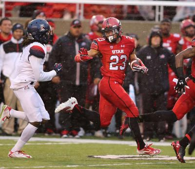 5. Devontae Booker (2014-current) | Ranking the best running backs in University of Utah history | Deseret News