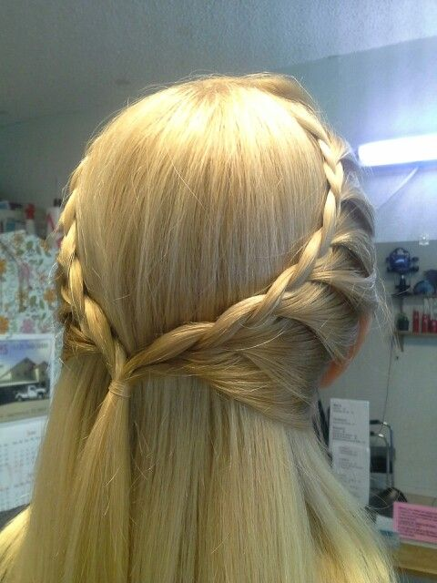 Sherry, face lace braid, its simple yet not, kind of like it.