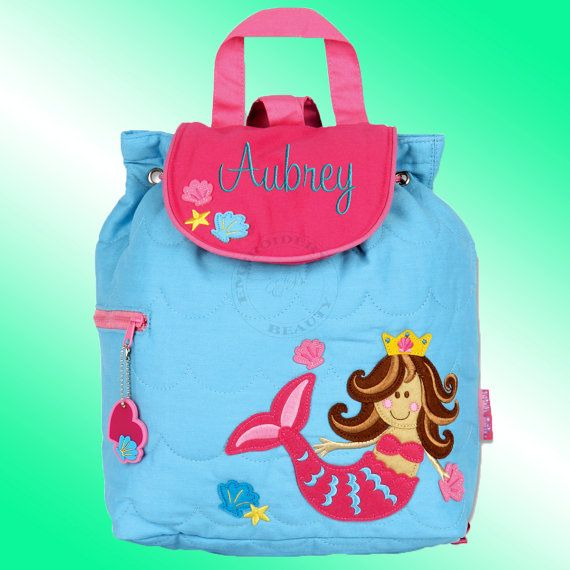 Quilted Backpack  Personalized and Embroidered  by TheBoutiqueByEB