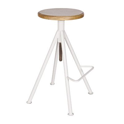 Woood Höhenverstellbarer Barhocker Lilly & Reviews von Woood | Wayfair.de