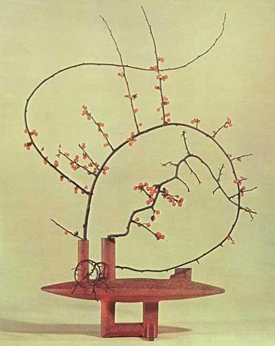 Japanese Flower Arranging   Garden Note #23: Japanese Flower Arranging   NIBS
