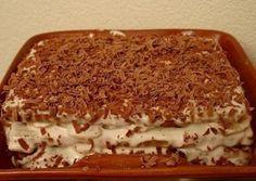 Торт из печенья с бананом на скорую руку