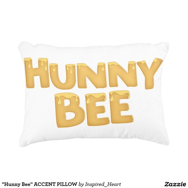 Hunny Bee ACCENT PILLOW
