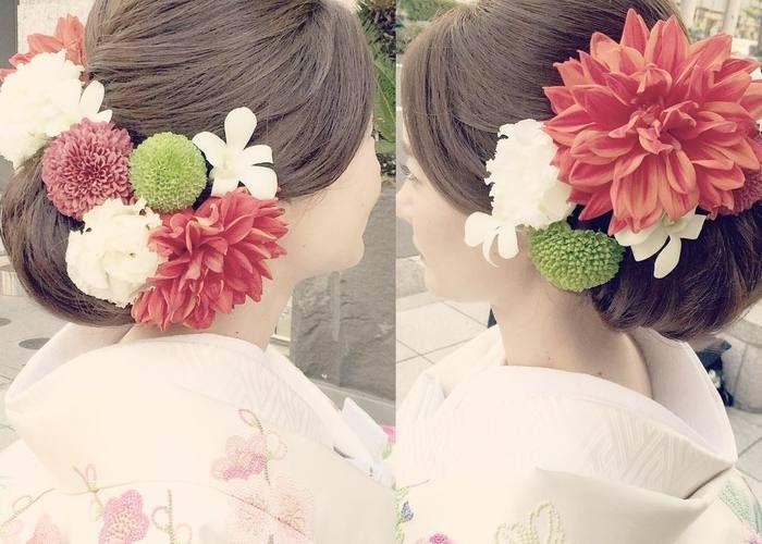 和装に合わせたい髪型はこれ!ほっこり可愛いやまとなでしこ風ヘアアレンジカタログ♡のトップ画像