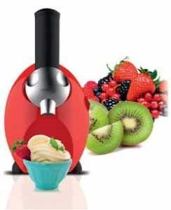 Máquina de postre fruta helada Sogo SS-5245 - Con la máquina de postre fruta helada de Sogo disfrutará de forma completamente nueva de hacer postre helado con frutas congeladas. Hace 400 gramos en sólo 1 minuto. Maquina de hacer helado de frutas de diseño elegante y de un color brillante que le dará a su cocina una apariencia moderna. Fácil de usar, puedes hacer una mezcla deliciosa de frutas con un simple toque. Es rápido, cómodo, delicioso, económico y saludable. No necesita utilizar…