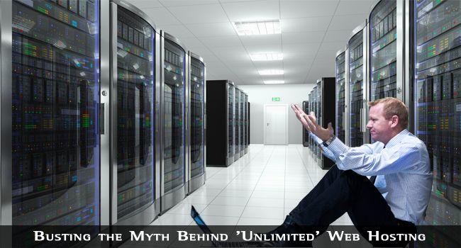 Busting the Myth Behind 'Unlimited' Web Hosting