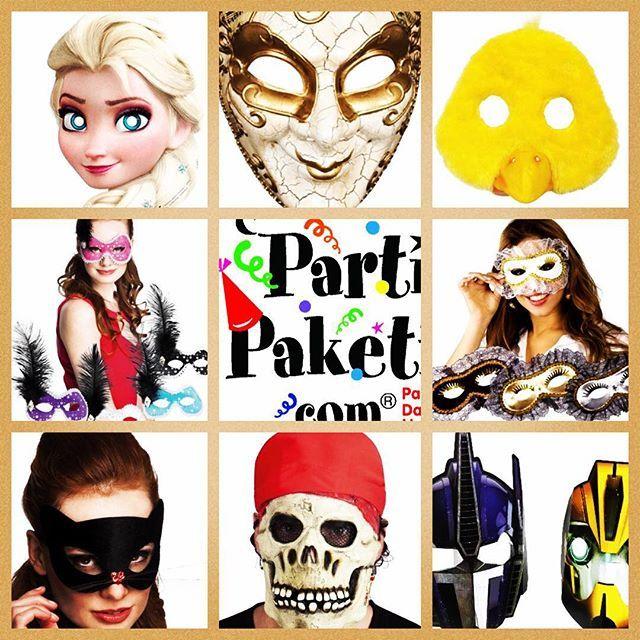 Maskelerden maske beğen  yılbaşı, halloween, doğum günü, bekarlığa veda...her partiye her yaşa uygun maskeler PartiPaketi mağazaları ve www.partipaketi.com da! #maske #partimaskesi #partimaskeleri #karnaval #mask #facemask #partymask #frozenmask #elsamask #piratemask #parti #yılbaşıpartisi #doğumgünüpartisi #bekarlığavedapartisi #cadılarbayramı #partimalzemeleri #partiürünleri #partimağazası #kostüm #kostum #kostümparty #kostümpartisi #kostumpartisi #kostumparty #kostümparti #kostumparti