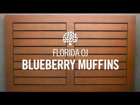 Florida Orange Juice Blueberry Muffins ‹ Florida Department of Citrus