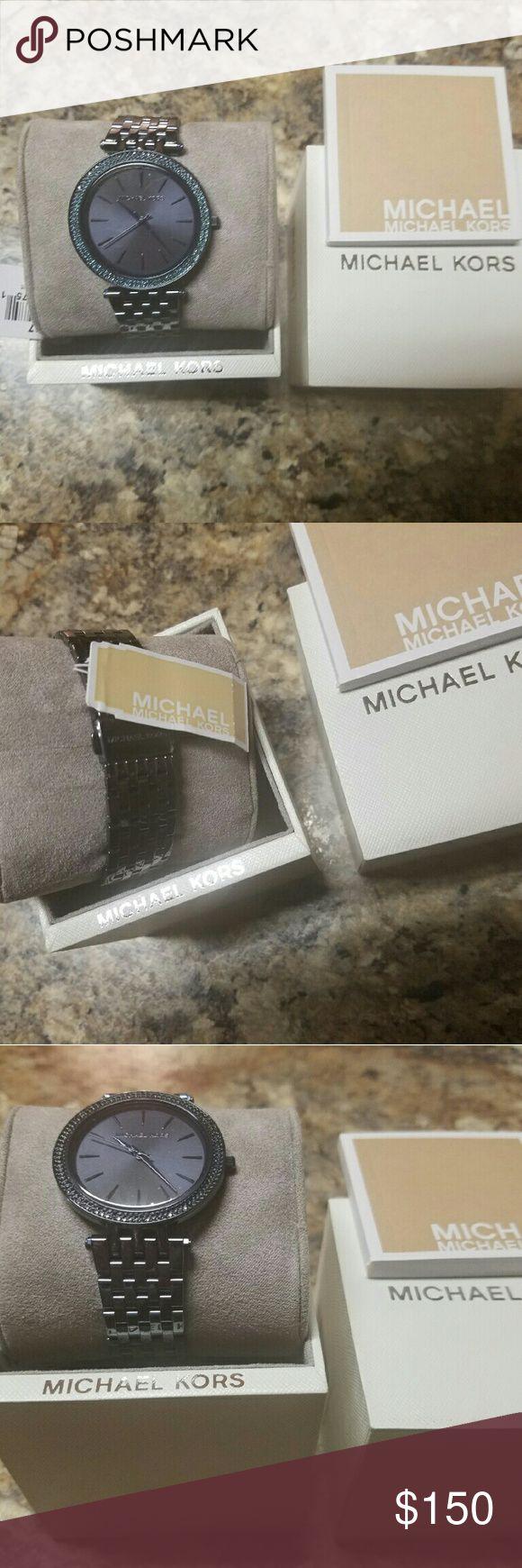 New Navy Blue Michael Kors Watch Limited Brand New Michael Kors Watch Michael Kors Accessories Watches