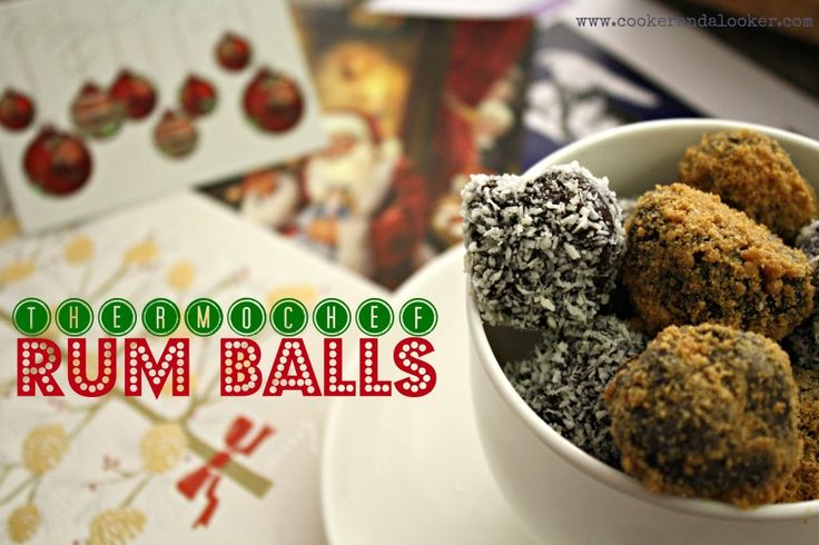 thermochef rum balls