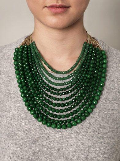 Jade necklace | Emeralds gems | Pinterest | Jade Necklace, Jade and Necklaces
