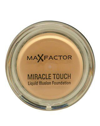 Max Factor Miracle Touch Foundation | Max Factor - Boots - 45 Warm Almond