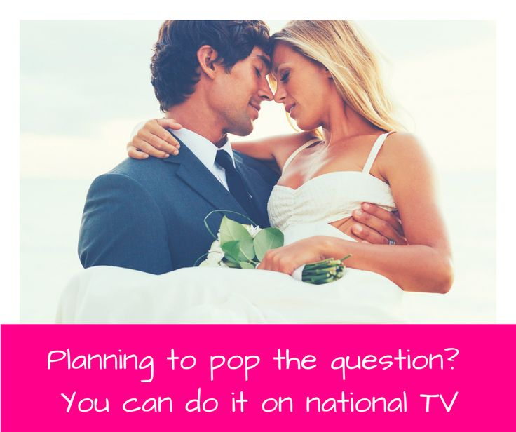 CHANNEL 10 - is looking someone who wants to propose on national television and would like help to make it magical. Apply here http://bit.ly/2iKHKs0