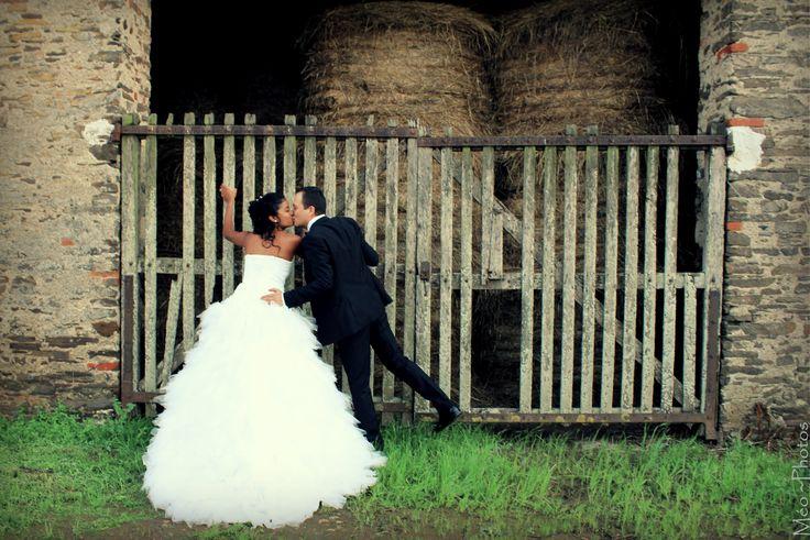 mariage à la campagne !