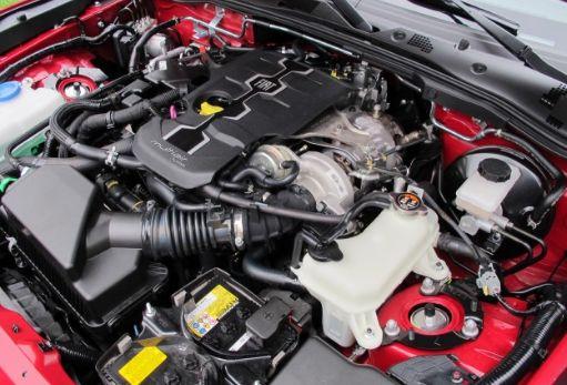 2017 Fiat 124 Spider Engine