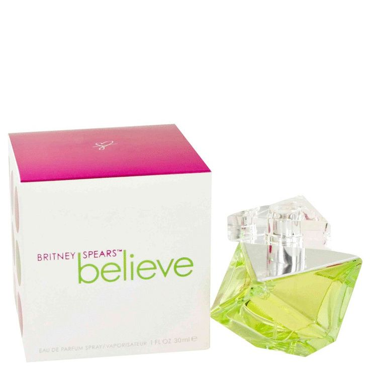 New #Fragrance #Perfume #Scent on #Sale  Believe by Britney Spears 1 oz / 30 ml EDP Spray - Believe by Britney Spears the latest to her collection is sensual and feminine. It's a youthful and playful fragrance with top notes of exotic guava and golden tangerine,middle notes of honeysuckle and hints of linden blossom and base notes of patchouli wrapped in amber and pink pralines. Recommended for day and evening wear.. Buy now at…