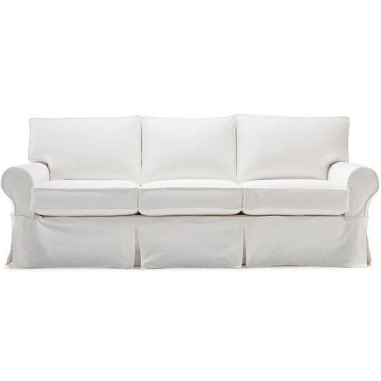 Alexa Ii Slipcover Sofa Contemporary Upholstery Fabric Sofas