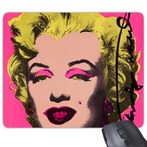 Marilyn Monroe Pop Art Popular Picture Andy Warhol Autograph Neorealismo Design Illustration Pattern Rectangle Non-Slip Rubber Mousepad Game Mouse Pad #Mousepad #MarilynMonroe #Mousepad #PopArtmPopular #Gamingmousepad #Picture #Mousegamer #AndyWarhol #Mausepad #Autograph #Keyboardmat #Neorealismo #Muismat #Design #MiceMat #Rubber #Anti-Slip #GamingMicePad