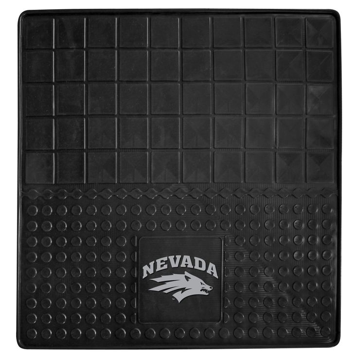 "University of Nevada Heavy Duty Vinyl Cargo Mat - Protect your vehicle's flooring and your cargo. Display your team pride with cargo mats by FANMATS. 100% heavy duty vinyl construction with non-skid backing ensures a rugged and safe product. Universal fit makes it ideal for cars, trucks, SUVs, and RVs. The officially licensed design in true team colors are permanently molded for longevity.FANMATS Series: CARGOVINTeam Series: University of NevadaProduct Dimensions: 31""x31""Shipping Dimensions…"