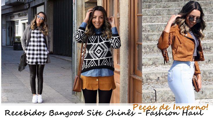 Recebidos da Loja Chinesa Banggood – Fashion Haul