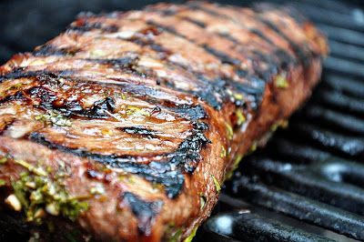 Grilled Tri Tip with Tequila Marinade Recipe:  lime juice, fresh cilantro, olive oil, soy sauce, tequila, garlic, lime zest, ground cumin, dried oregano, pepper and tri tip roast.  ▲▼▲▼▲