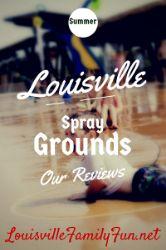 Spraygrounds and Splash Park/Areas in and around Louisville, KY 2014