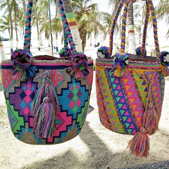 New arrival!! Wayuu bag แบบสายเปีย น่ารักสุดๆค่ะ มีมาไม่กี่ใบนะคะ…