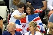 Louis Tomlinson and Eleanor Calder at the Olympics - Zimbio