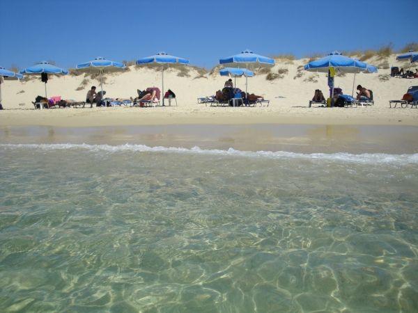 Water in Plaka beach