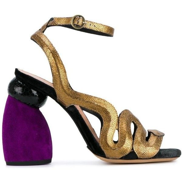 1000  ideas about Gold Chunky Heels on Pinterest | Alegria shoes ...