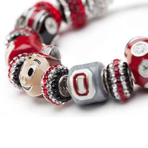 Ohio State Forever Buckeye Bracelet
