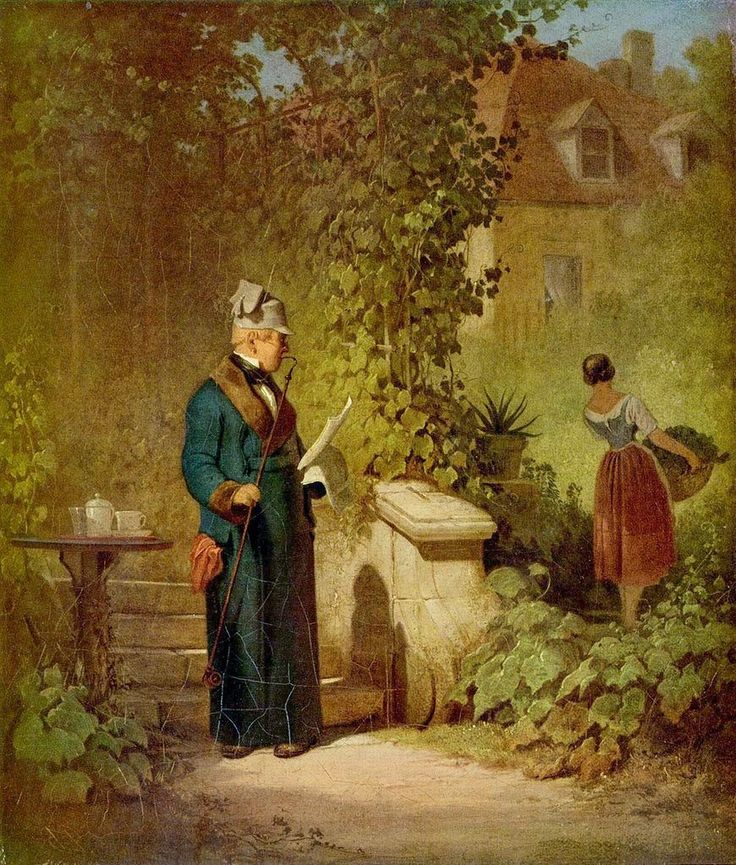 Paintings of Spring: Carl Spitzweg (5 februarie 1808 – 23 septembrie 1885), pictor romantic german