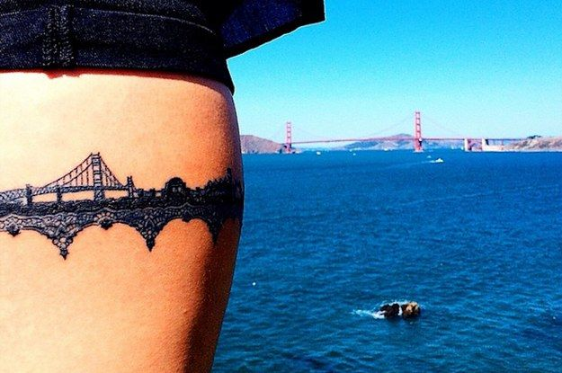 33 tatuajes impresionantes de paisajes que te recordarán a tu hogar