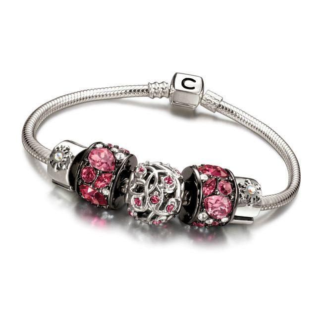 Chamilia Pink Bracelet Gift Set