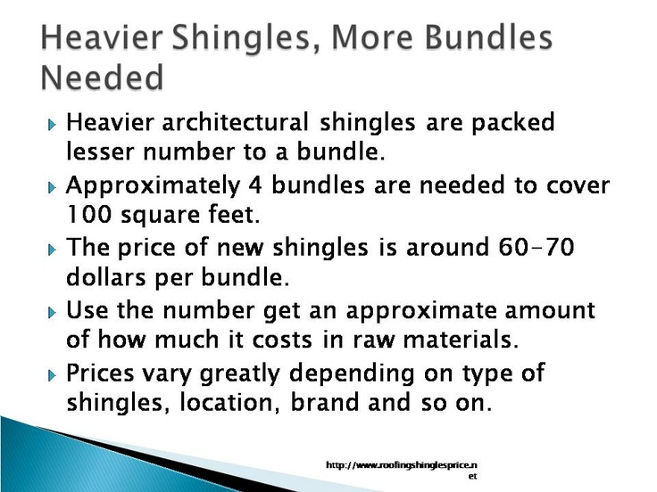 This excellent report on roofing shingles prices at lowes is for homeowners to understand the pricing strategies at the big stores and how to get advantage of the pricing. The author contributes articles and reports to the site RoofingShinglesPrice.Net at http://www.roofingshinglesprice.net.