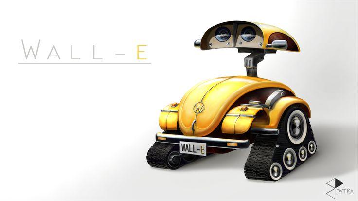 Fan-art: WALL-E