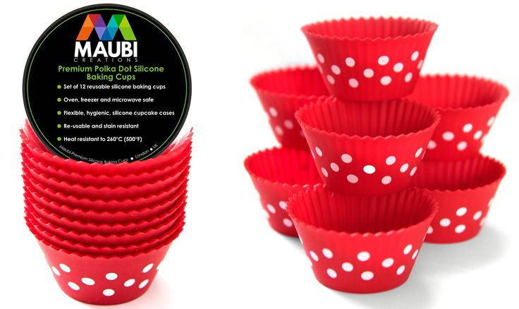 Sale now on, get your silicone cupcake liners now