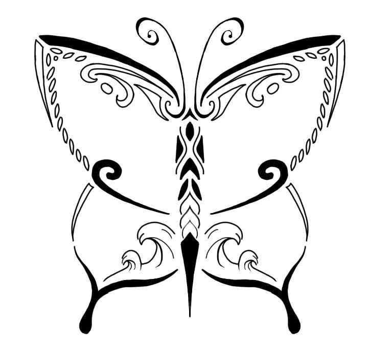 Det er en tatovering tegnet til en af mine veninder