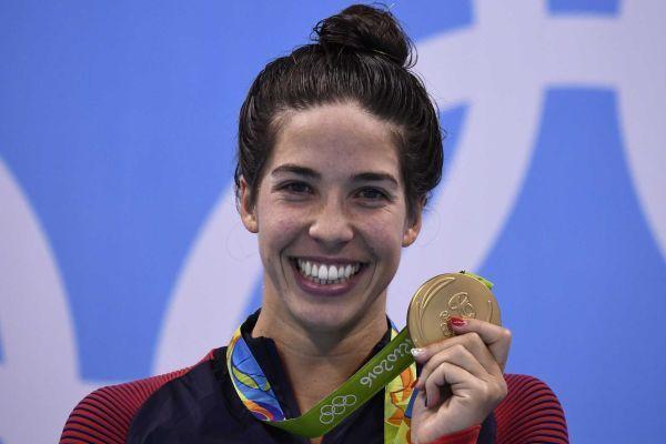 Maya DiRado, swimming