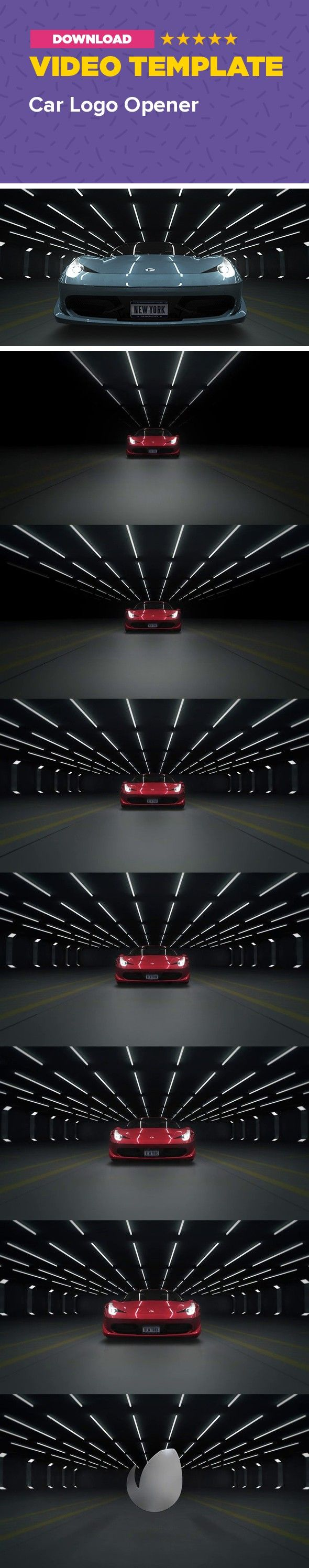 3d, auto, car, drive, engine, fast, ferrari, garage, light, logo, race, racing, show, speed, sport Car Logo Opener is an After Effects project with pre-rendered 3D content.   It features sport car (Ferrari 458 Italia) revving on the parking lot, with incredible sound and visual effects.  You can easily change color of the car, drop your own emblem on the hood and put in your own front license plate. I hope you'll enjoy it!          CS4 /CS5/CS5.5/CS6/CC compatible   1920X1080 30fps…