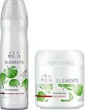Wella Elements - Zestaw Szampon i Maska