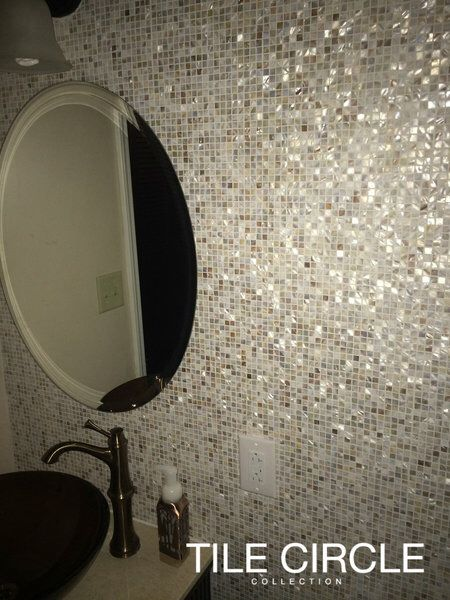 91 best images about mother of pearl tiles by tile circle for Most popular bathroom tile