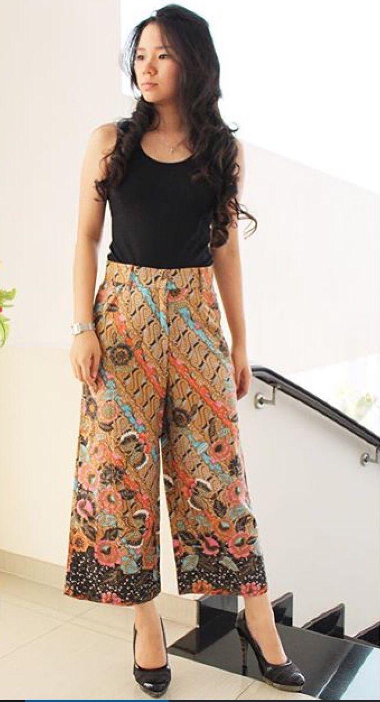 Batik Solo niki langkung sae menawi dipun tambahi bolero batik :)
