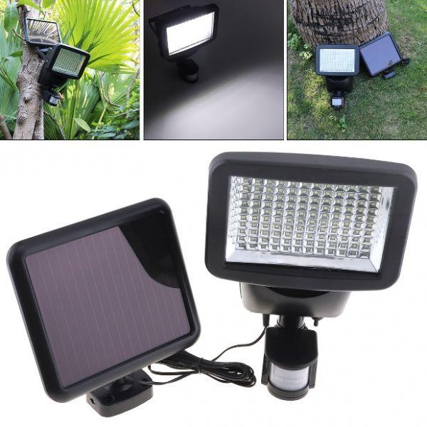120led Pir Motion Sensor Solar Power Wall Light Flood Garden Path Lamp Motion Sensor Lights Outdoor Solar Power Diy Solar Lights