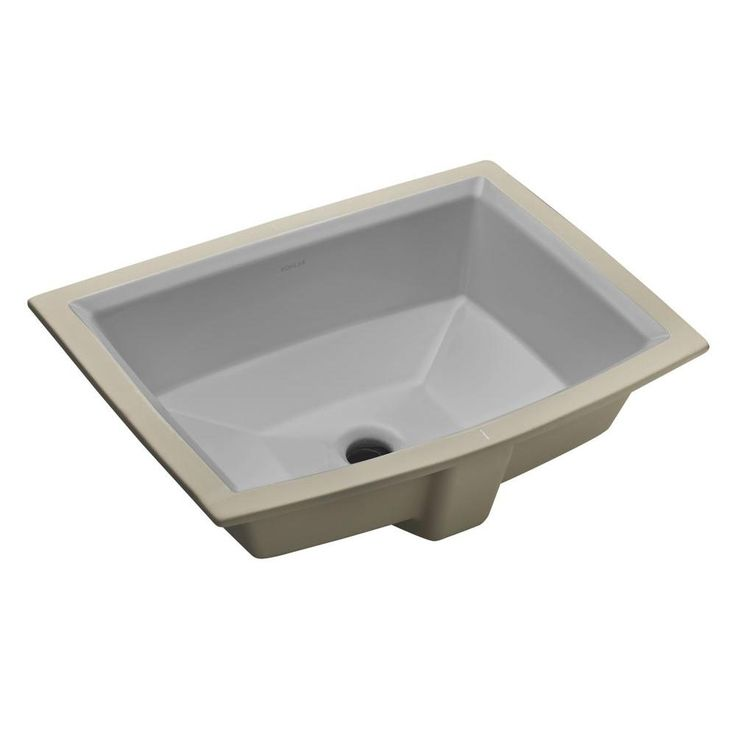 Archer Vitreous China Undermount Bathroom Sink With Overflow Drain
