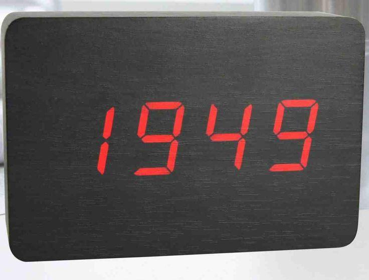 42 best TV Digital Wall Clock images on Pinterest Wall clocks
