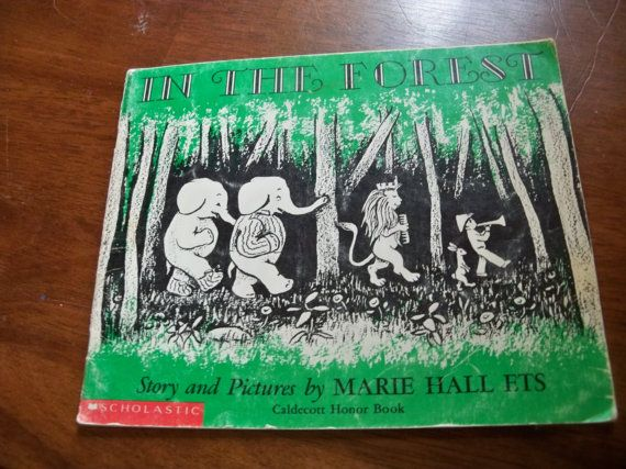 first  scholastic printing 1989  in the forest     by Marie