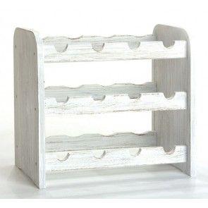 Roder Bortartó, 12 üvegre, Provance – fehér, 38x42x27 cm