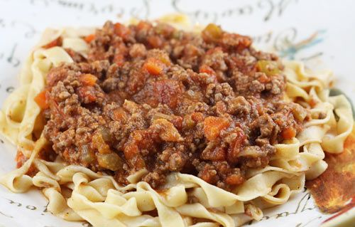 Authentic Ragu Alla Bolognese.  Our Italian Family Table... (1) From: Italian Food Forever, please visit